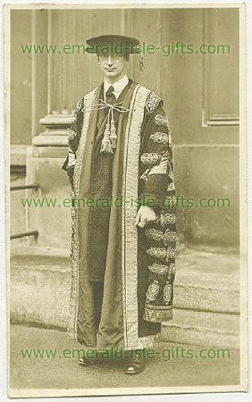 Eamon De Valera in robes