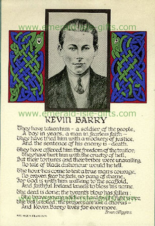 Song for Kevin Barry