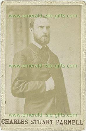 Portrait of Charles Stuart Parnell