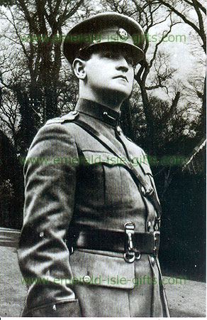 Michael Collins in military uniform