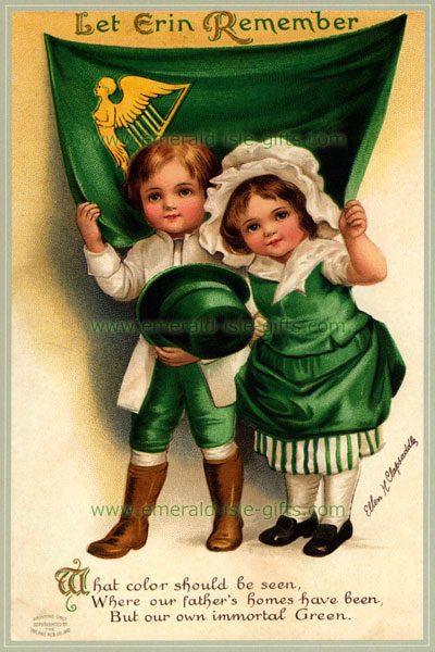 Irish Greetings Irish Green Boy And Girl St Patrick S