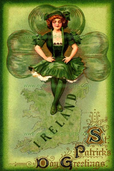 Irish Dancer for St Patrick