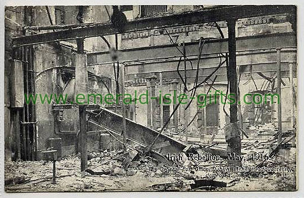 The destruction of the General Post Office