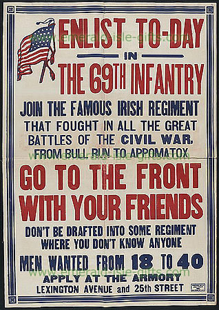 New York 69th Infantry