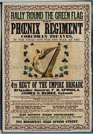 US Civil War Irish Phoenix Regiment