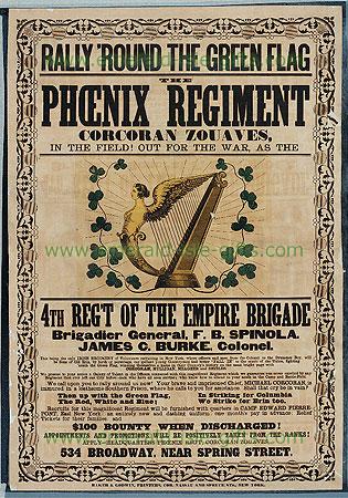 US Civil War Irish Phoenix Regiment