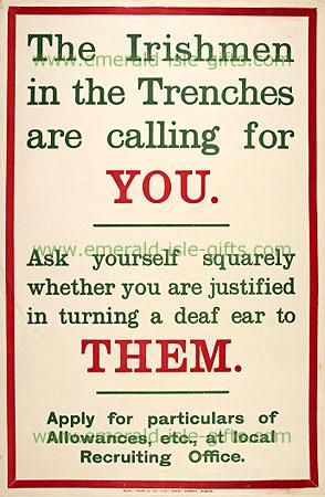Irishmen in the Trenches