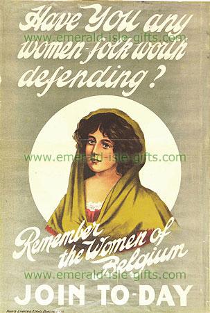 The Women of Belgium