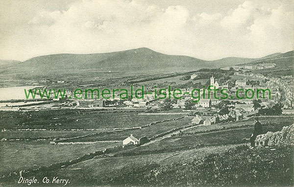 Kerry - Dingle - b/w Coastal view