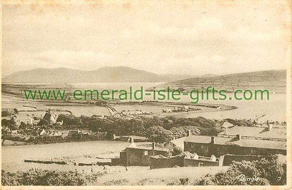 Kerry - Dingle - Aerial view