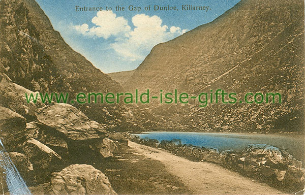 Kerry - Dunloe - Entrance to the Gap of Dunloe