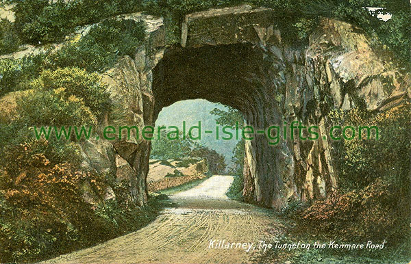 Kerry - Killarney - The Tunnel on the Kenmare Road