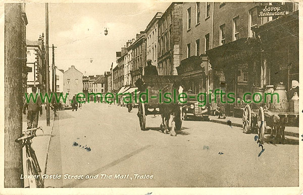 Kerry - Tralee - Lower Castle Street and The Mall