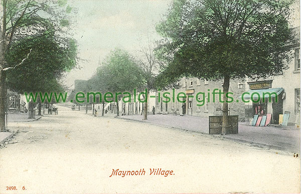 Kildare - Maynooth - Village view