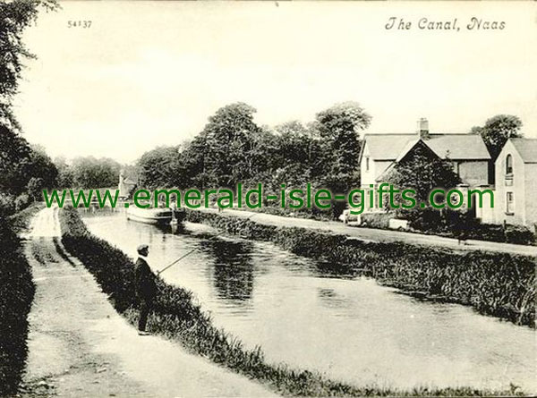 Kildare - Naas - old photo of canal