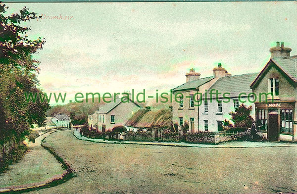 Leitrim - Dromahair - Town view