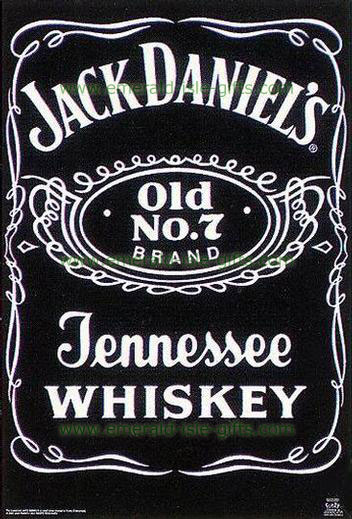Jack Daniels Whiskey Old Print