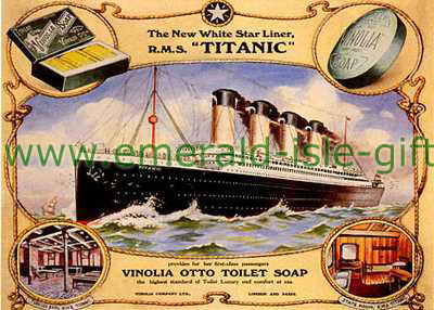 S.S. Titanic - Soap Advert Poster
