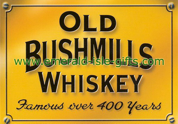 Old Bushmills Whiskey Advert print