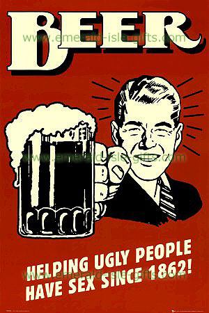 Beer Helping Ugly People