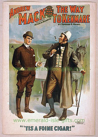 19th Century US Theatre Poster (Tis a Foine Cigar