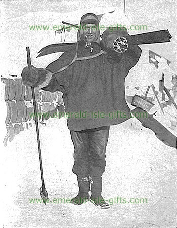 Tom Crean - Polar Explorer - old photo print