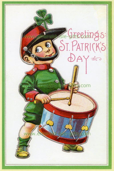 Irish Little Drummer Boy - St Patrick