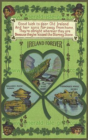 Ireland Forever - Patriotic print (Scenes of Ireland)