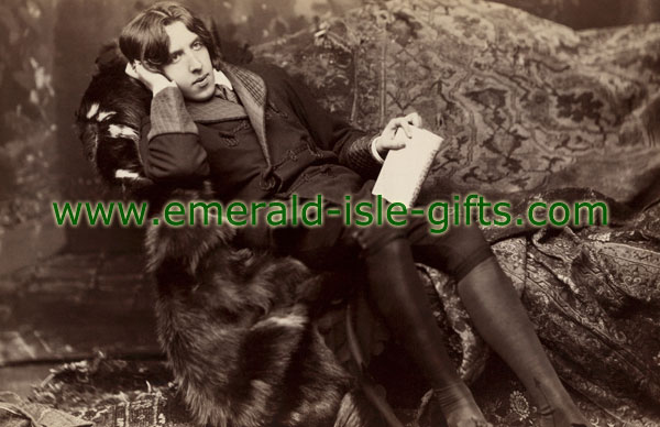 Oscar Wilde iconic photo print