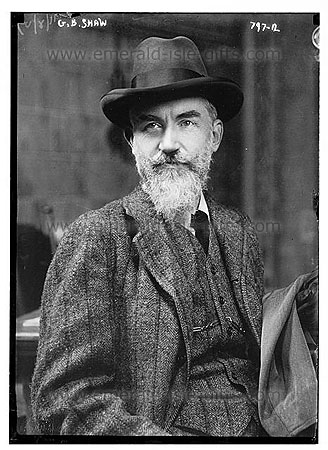 An Older George Bernard Shaw
