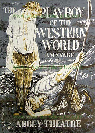 Abbey Theatre - Playboy of the Western World poster