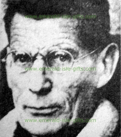 Samuel Beckett photo print study