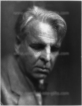 W.B. Yeats photo print in 1933
