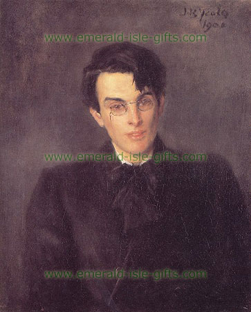 WB Yeats reproduction painting, by John B. Yeats