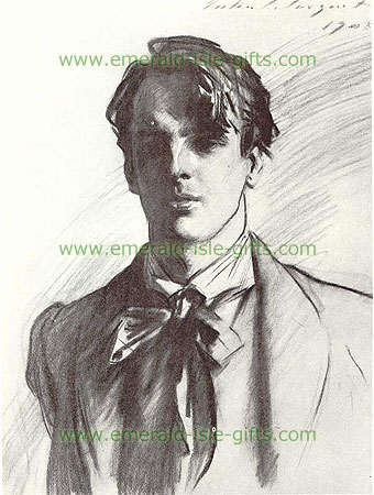 Portrait of a young W.B Yeats