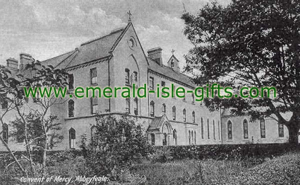 Limerick Abbeyfeale - Convent of Mercy - old photo print