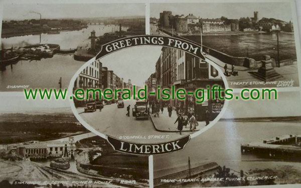 Limerick, Multi-view of old city images