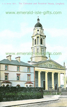Longford - Longford Town - The Cathedral and Parochial House