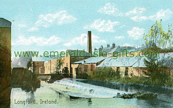 Longford - Longford Town - Longford (old colour Irish photo)
