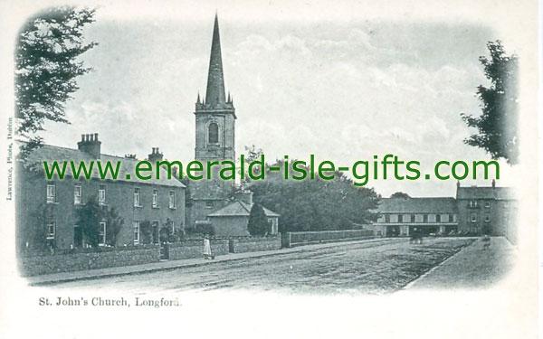 Longford - Longford Town - b/w St John