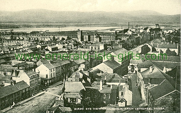 Louth - Dundalk - Birds Eye View from Cathedral