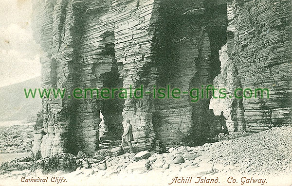 Mayo - Achill Island - Cathedral Cliffs