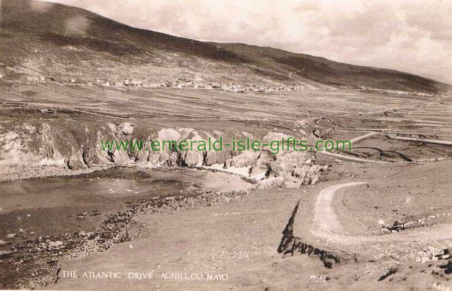 Mayo - The Atlantic Drive - Achill - great old photo