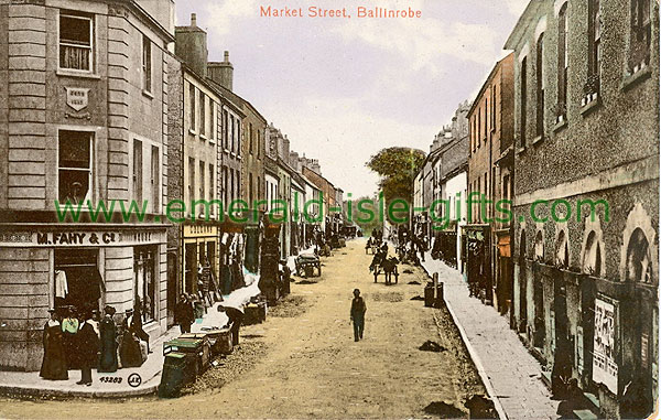 Mayo - Ballinrobe - Market Street