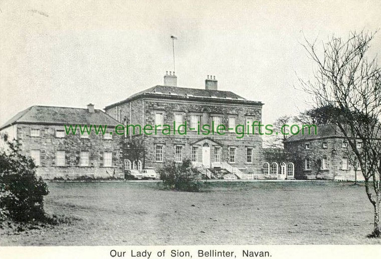 Meath - Bellinter - Our Lady of Sion - old photograph