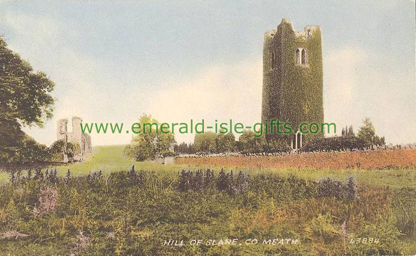 Meath - great old photo of the Hill of Slane
