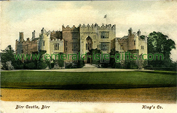 Offaly - Birr - View of Castle