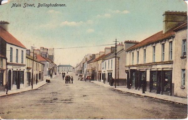 Roscommon - Ballaghadereen - Main St colour