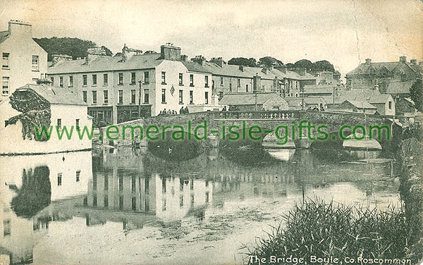 Roscommon - Boyle - b/w Bridge and River