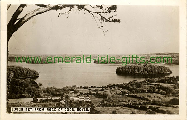 Roscommon - Lough Key - from Rock of Doon